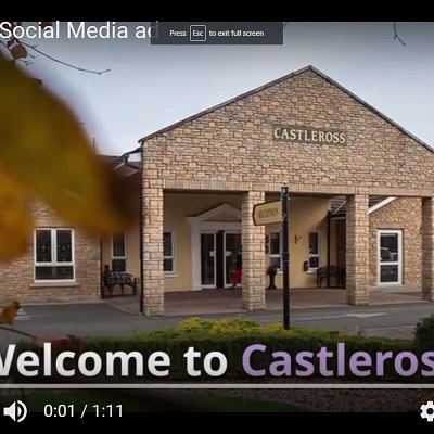 Welcome to Castleross video is live